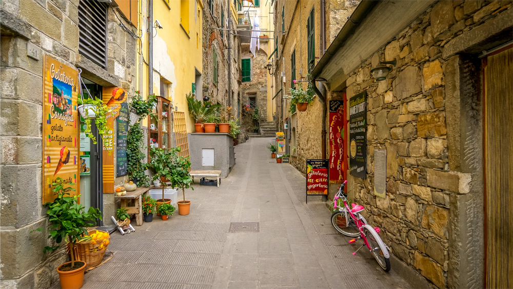 Explore the alleys of Cinque Terre
