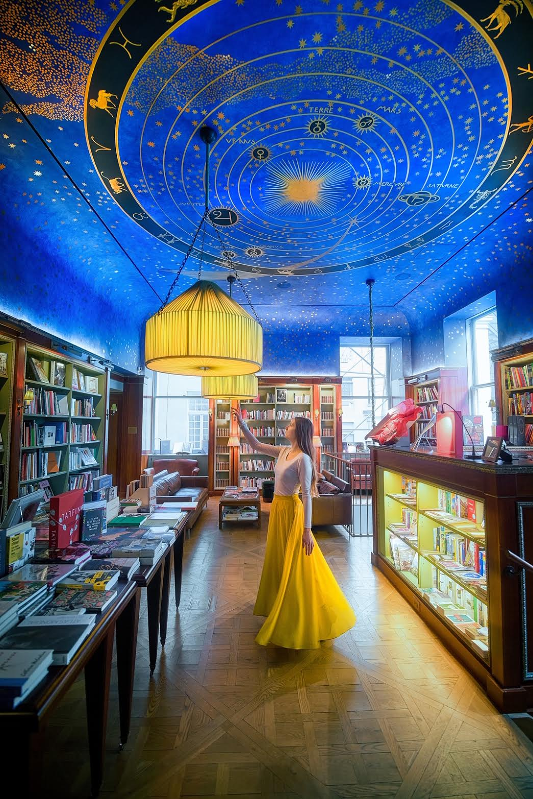 the Albertine Bookstore during your 4 days in New York