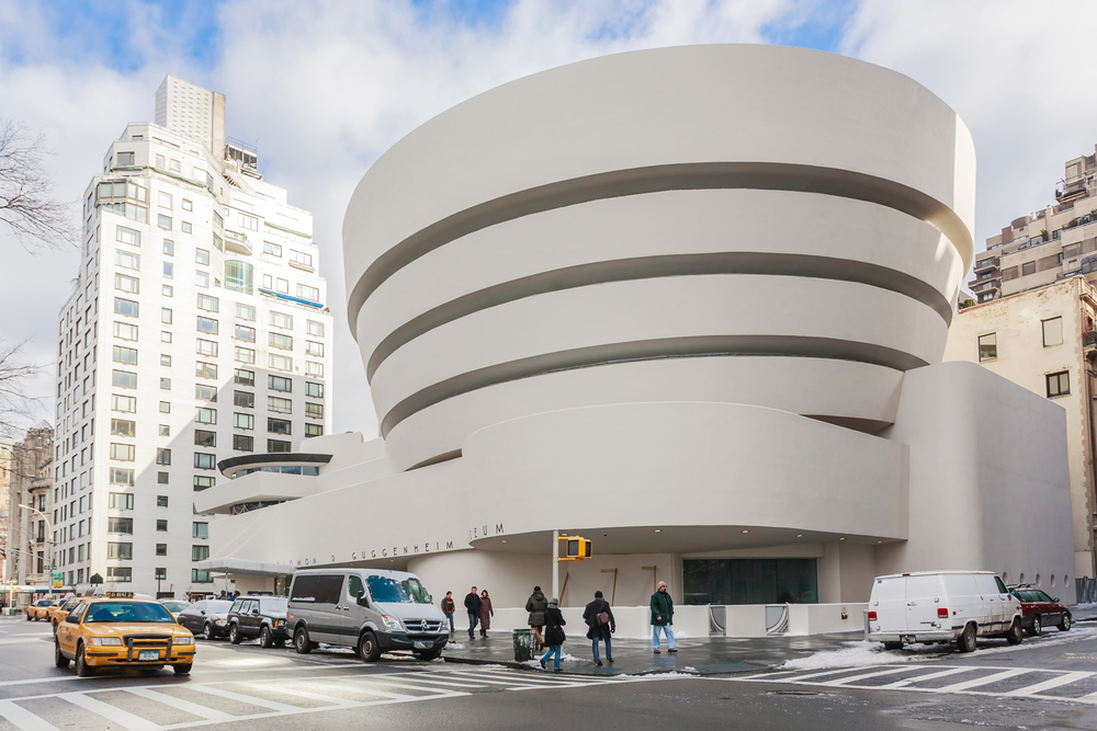 the Guggenheim Museum during your 4 days in New York