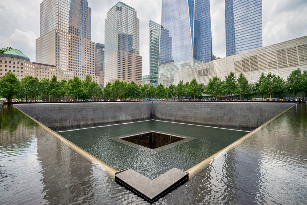 the 9/11 Memorial during your 4 days in New York