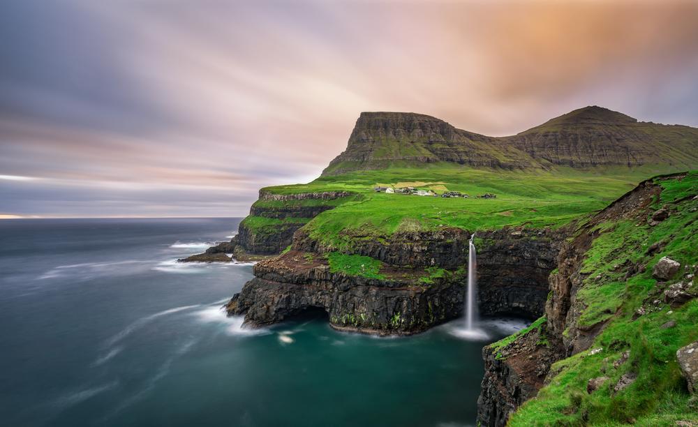 Hidden Gems in Europe Mulafossur Waterfall