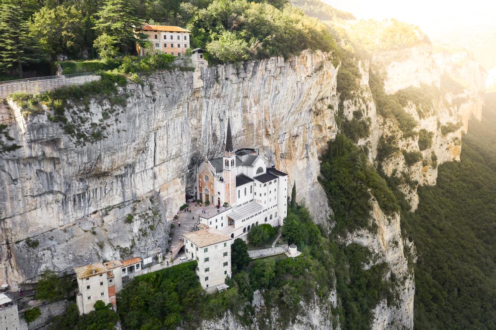 Hidden Gems in Europe Santuario Madonna Della Corona