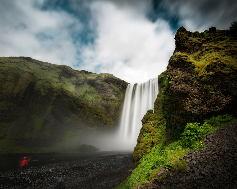 Skogafoss one of the most impressive Iceland waterfalls