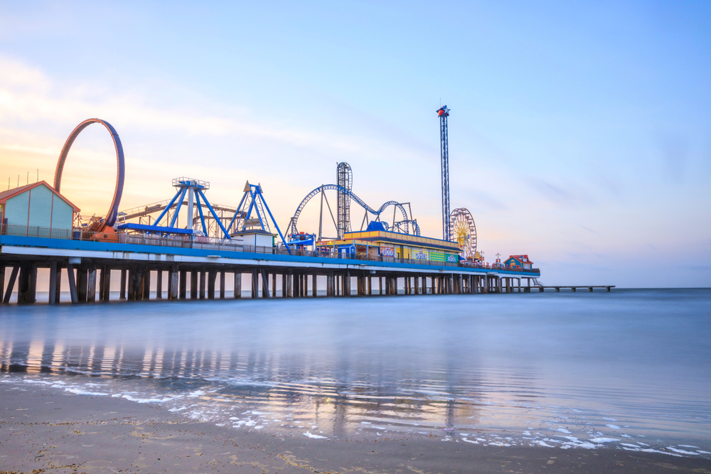 Texas Road Trip Pleasure Pier