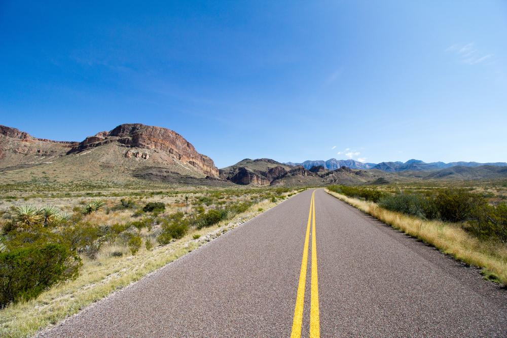 Texas Road Trip Road