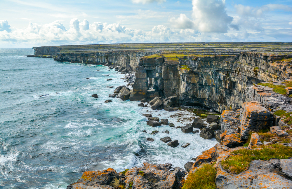 The Aran Islands are one of the most spectacular things to do in Ireland
