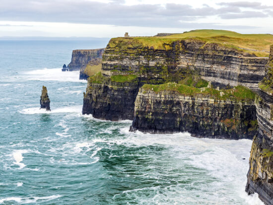 The Cliffs of Moher are one of the most popular things to do in Ireland