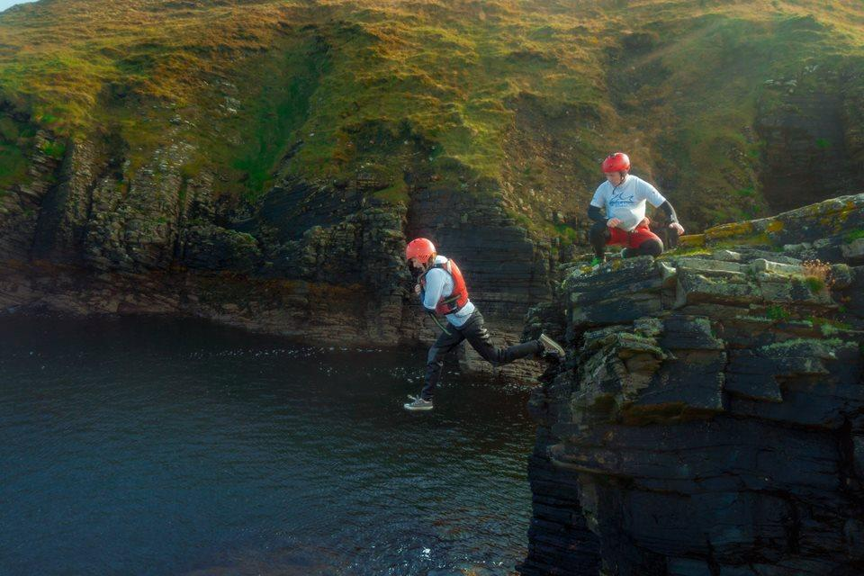 One of the coolest Ireland attractions is coasteering