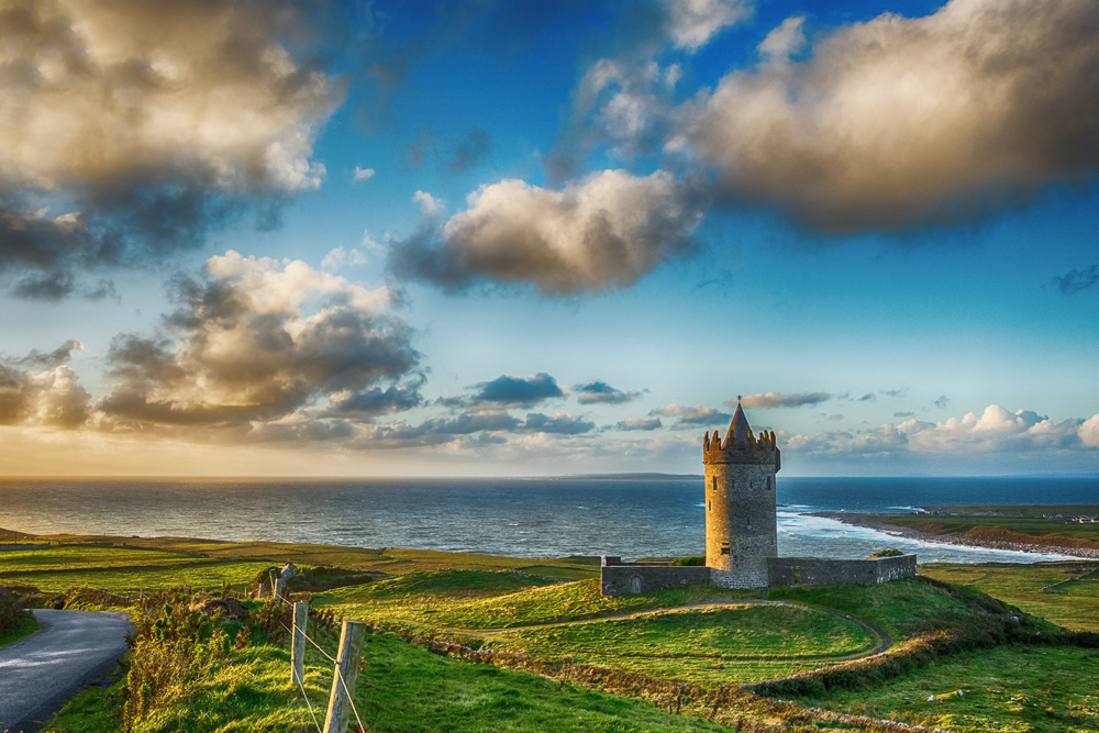 Explore the charming town of Doolin