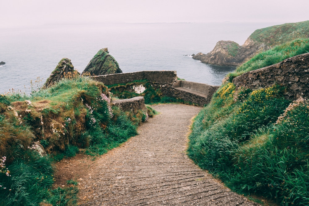 Walk out to Dunquin Harbour Pier for one of the most beautiful views in Ireland