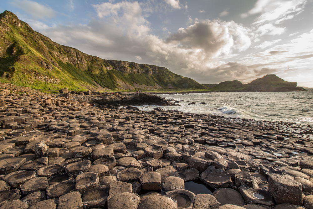 Make sure to walk along the Giant's Causeway while in Ireland