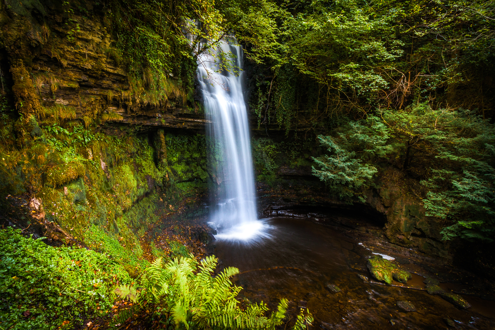 Glencar Waterfall is one of the prettiest sights in Ireland