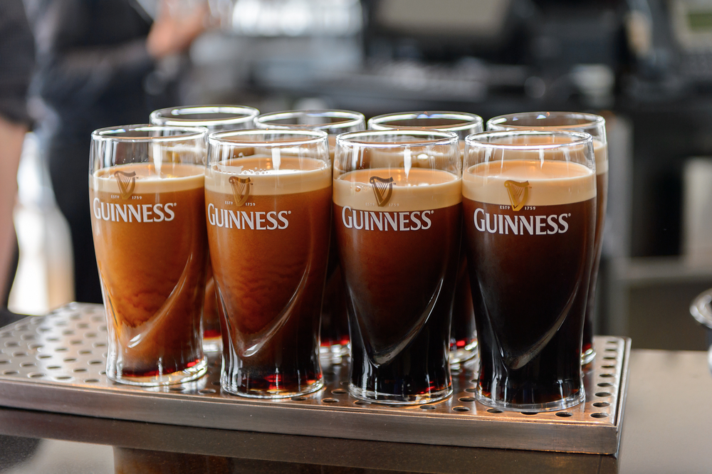 Grab a drink at the Guinness Storehouse