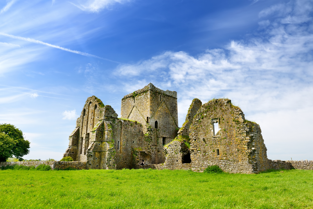 The ruins of Hore abbey are extremely beautiful