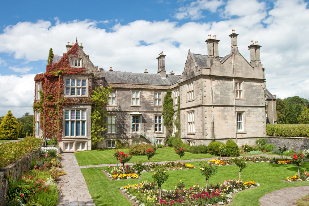 Find Muckross House while exploring Killarney National Park
