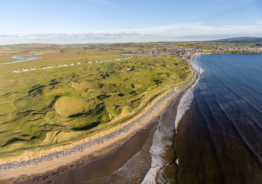 When looking for things to do in Ireland, consider strolling along Lahinch Beach