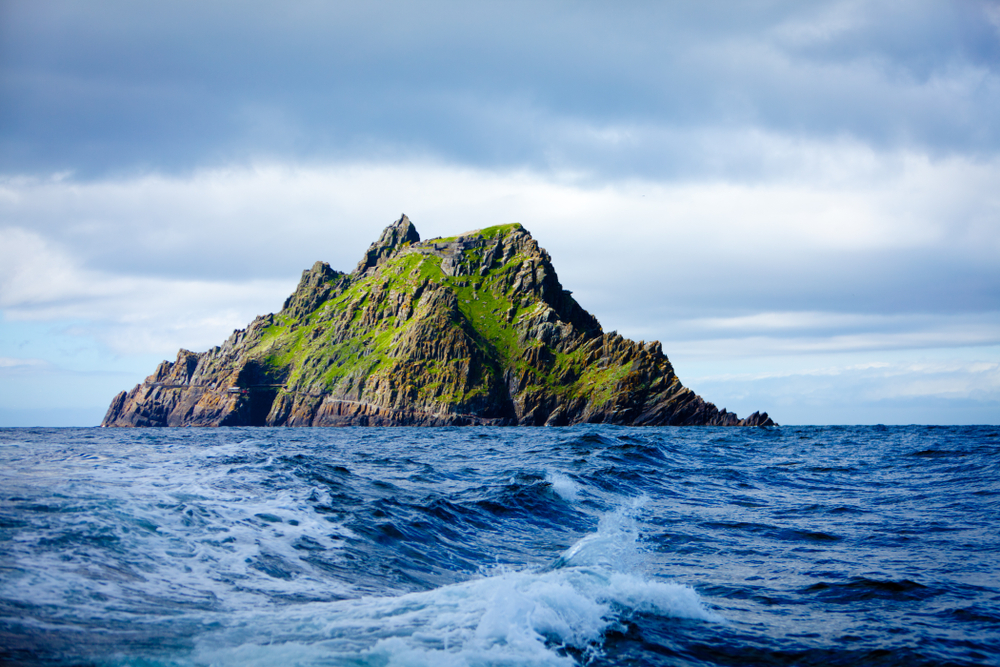 Make sure to see Skellig Michael off the coast of Ireland