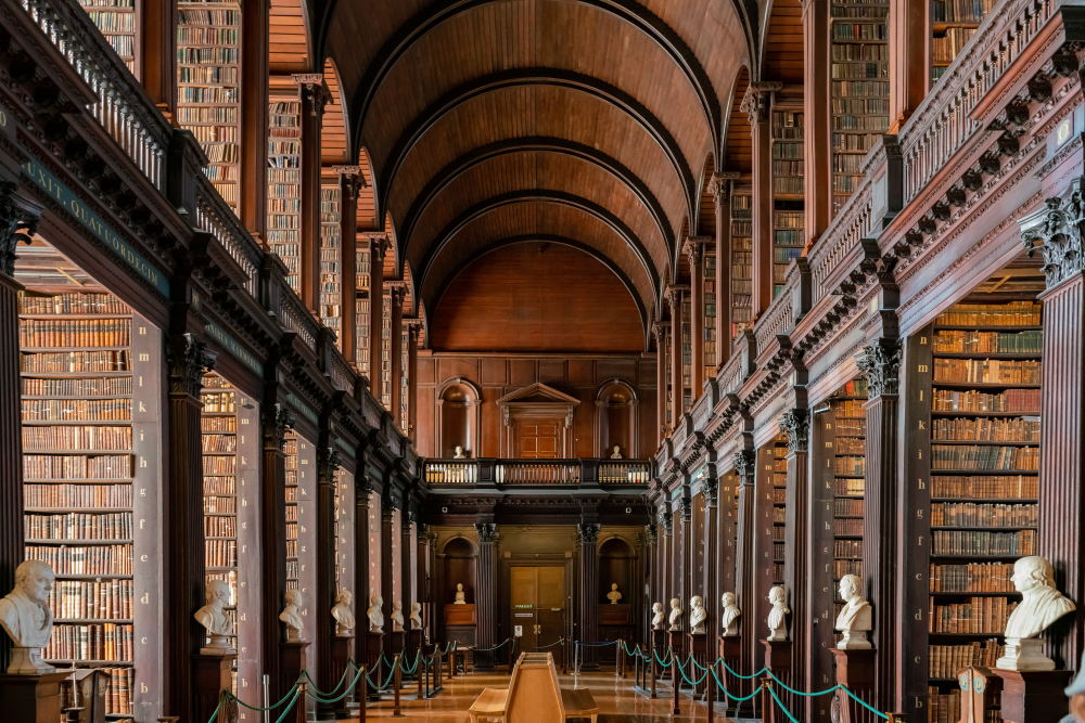 The Book of Kells is a historic artifact that you should see at least once in your life