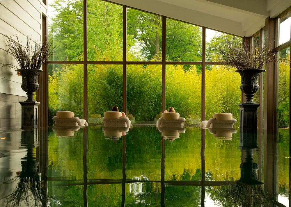 The spa at Monart 5 star hotel in Ireland