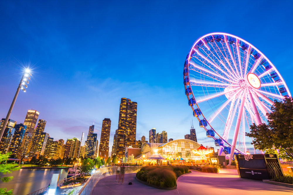 As Chicago's premier entertainment Center, Navy Pier shouldn't be overlooked during your 2 days in Chicago