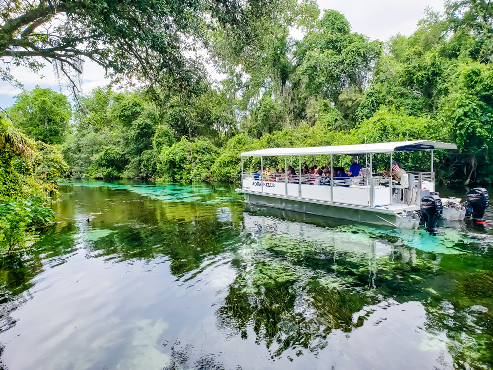 Florida Road Trip Weeki Wachee Springs Boat