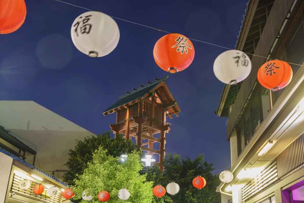 Japanese Lanterns in Little Tokyo