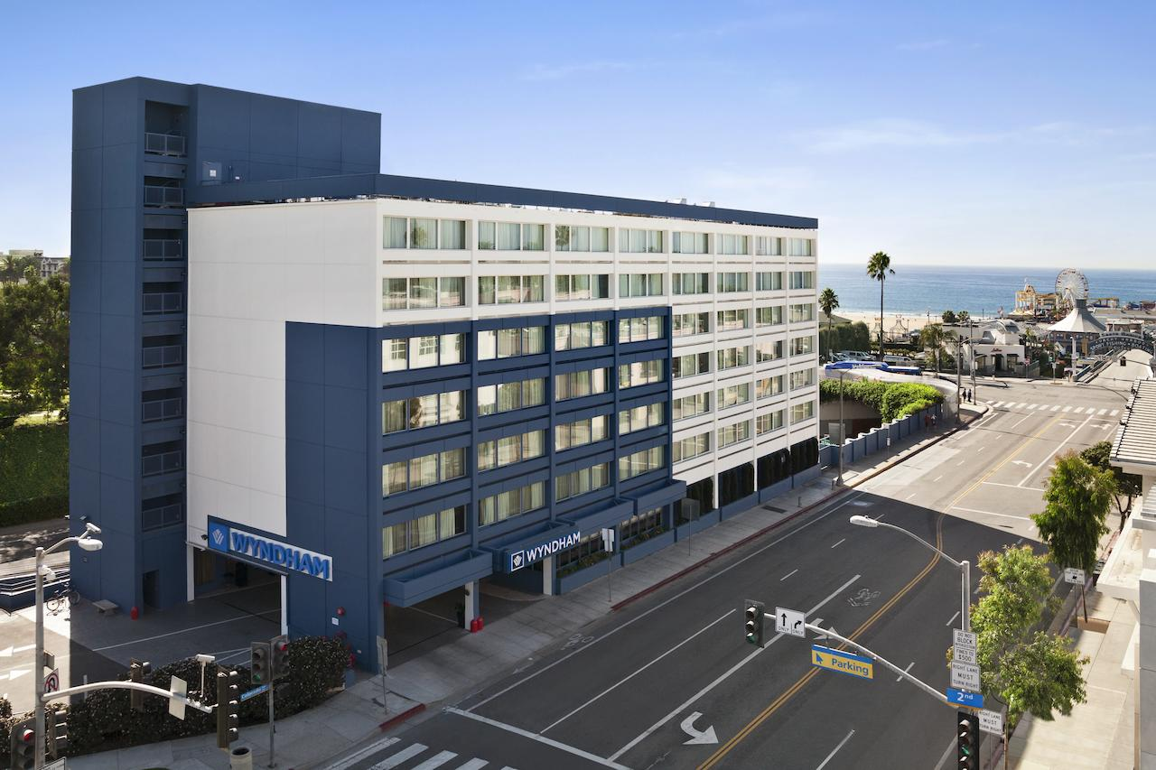 The Wyndhap Hotel at the Santa Monica Pier