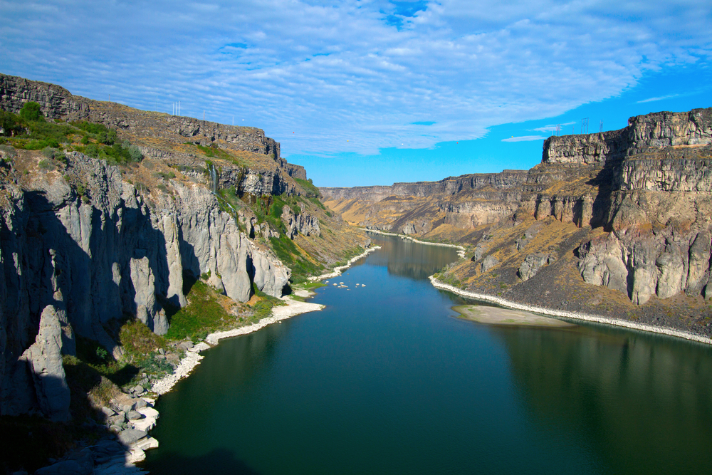 Photo of the Snake River.