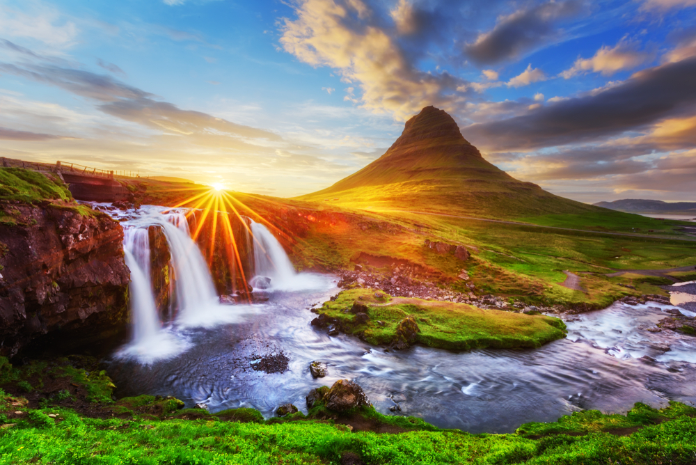 Kirkjufell during your trip to Iceland in October