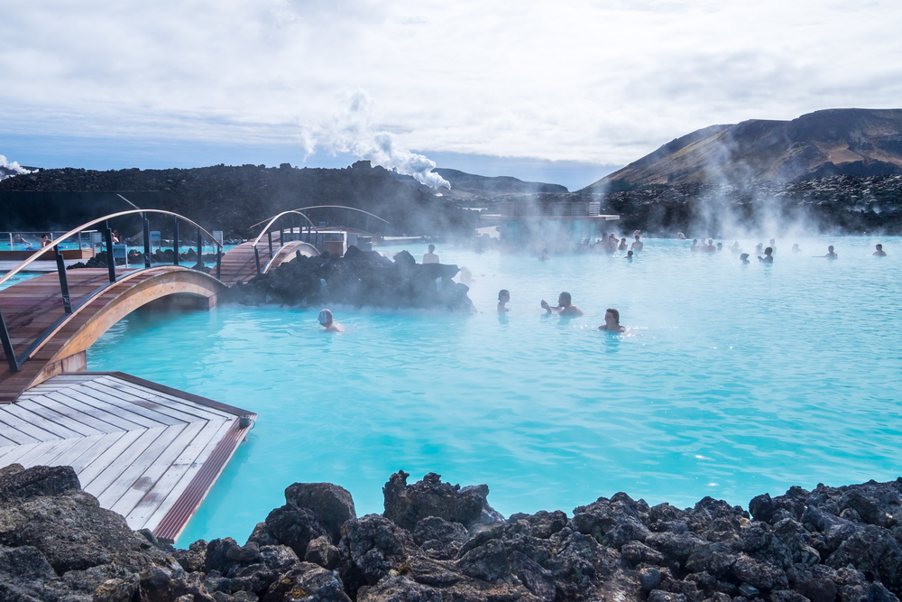 The Blue Lagoon during your trip to Iceland in September