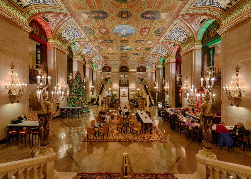 The Palmer House is a fantastic hotel to consider for your 2 days in Chicago