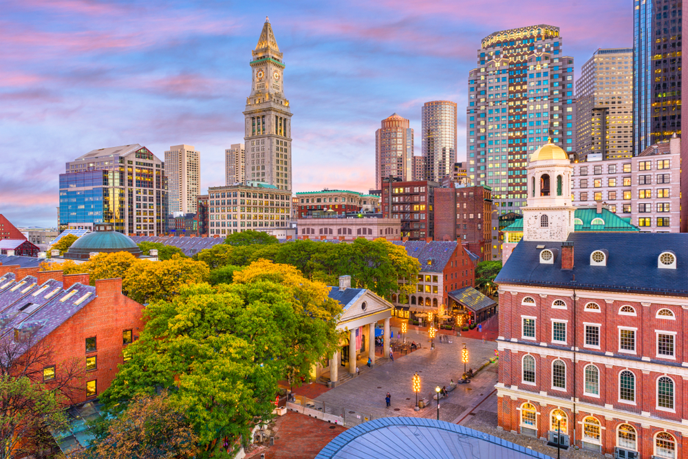 Boston is a historical and fun city to visit!