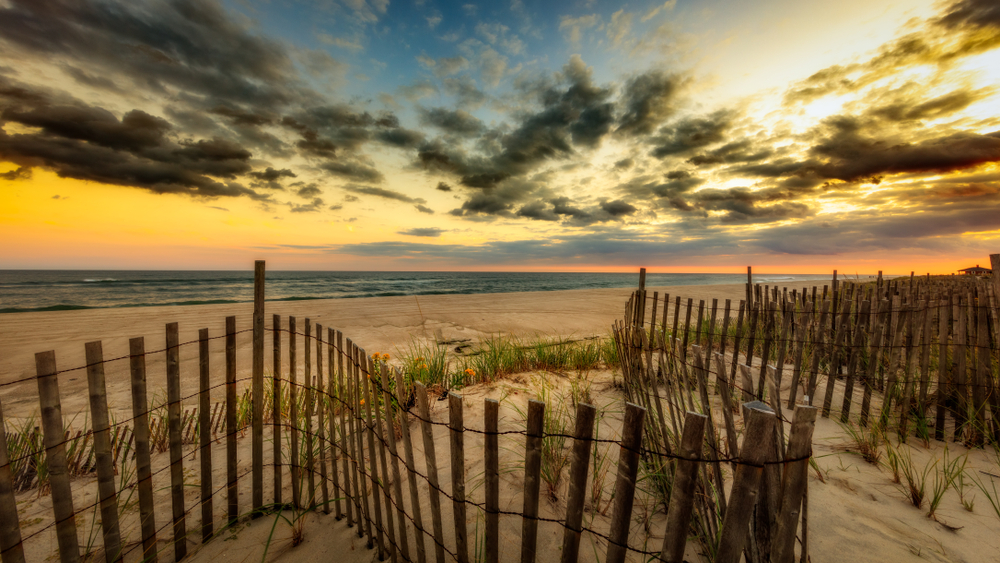 Hampton Beach is THE place for relaxation during your east coast road trip.