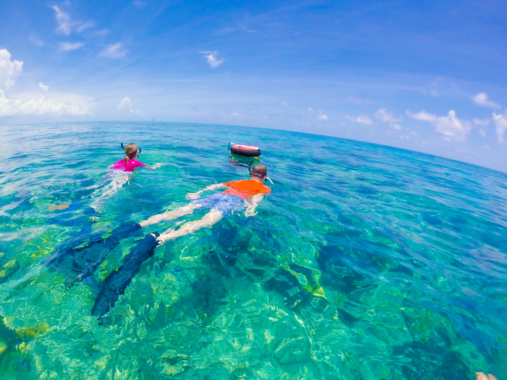 There are so many adventures to have in Key West, like snorkeling after a long road trip!