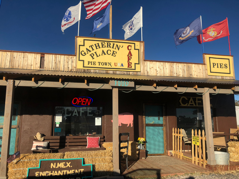 You have to stop in pie town New Mexico for some good food!