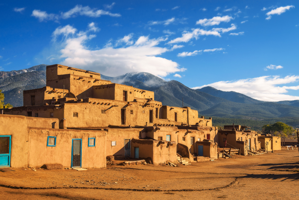 Taos is a native part of New Mexico great for learning about its culture!