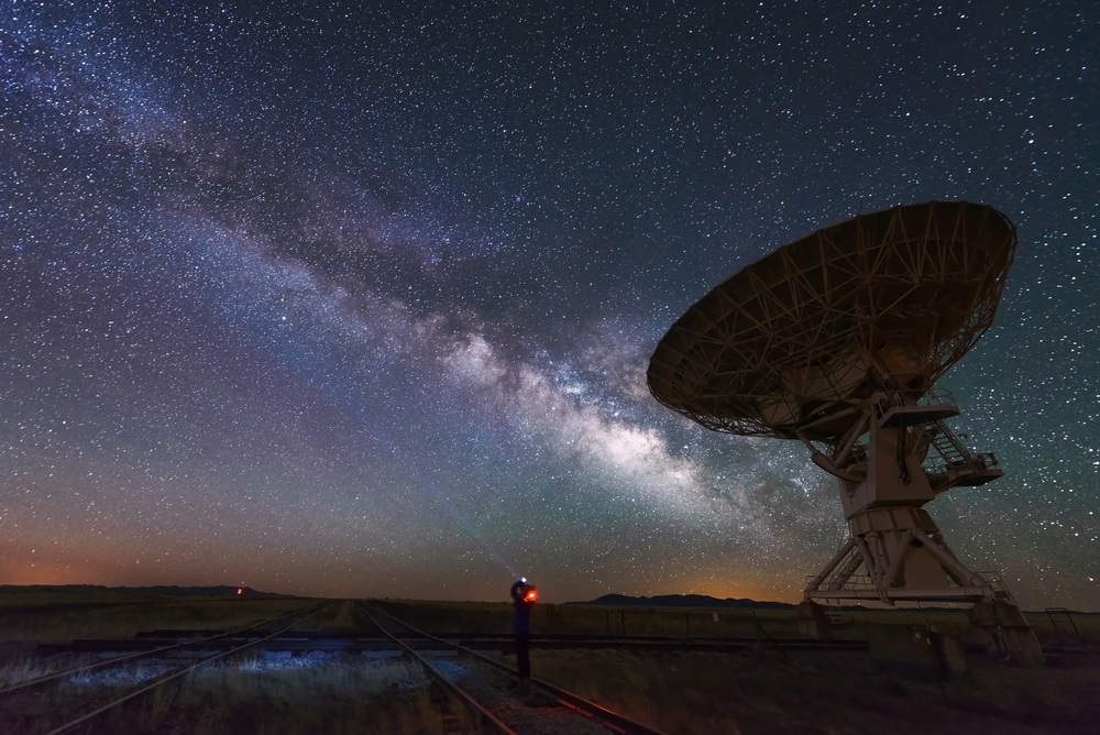 VLA is massive and spending the night under the stars is a great opportunity here.