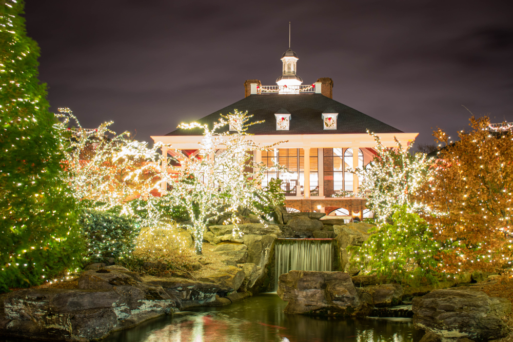 Gaylord Opryland Hotel christmas decorations