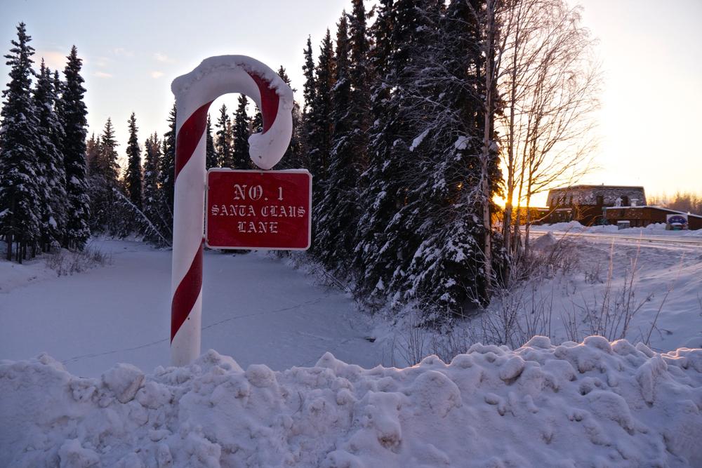 Santa Claus Lane North Pole Alaska