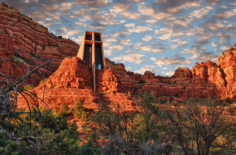 Grand Canyon Road Trip Church of the Holy Cross