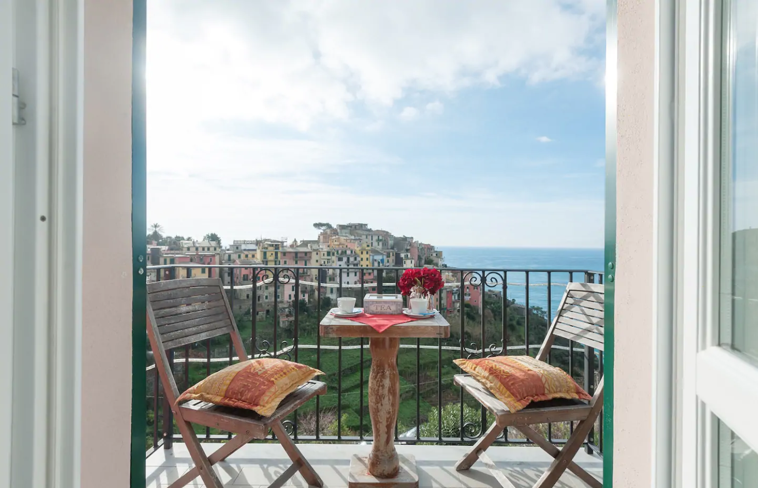 Bed and Breakfasts are also an option when looking for AirBnbs in Cinque Terre