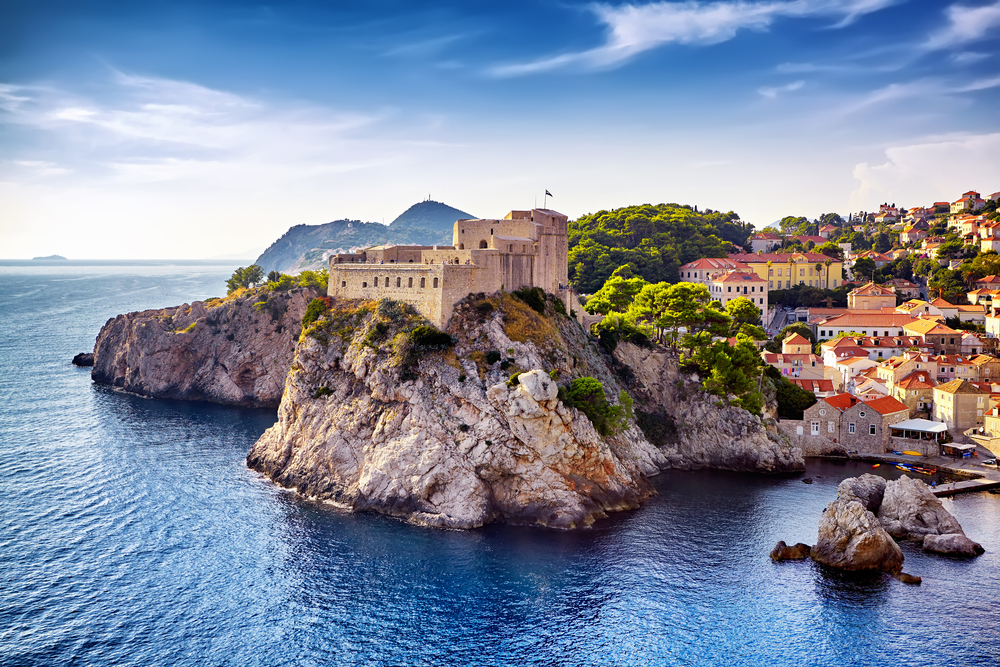 Dubrovnik on the best European road trip through Croatia