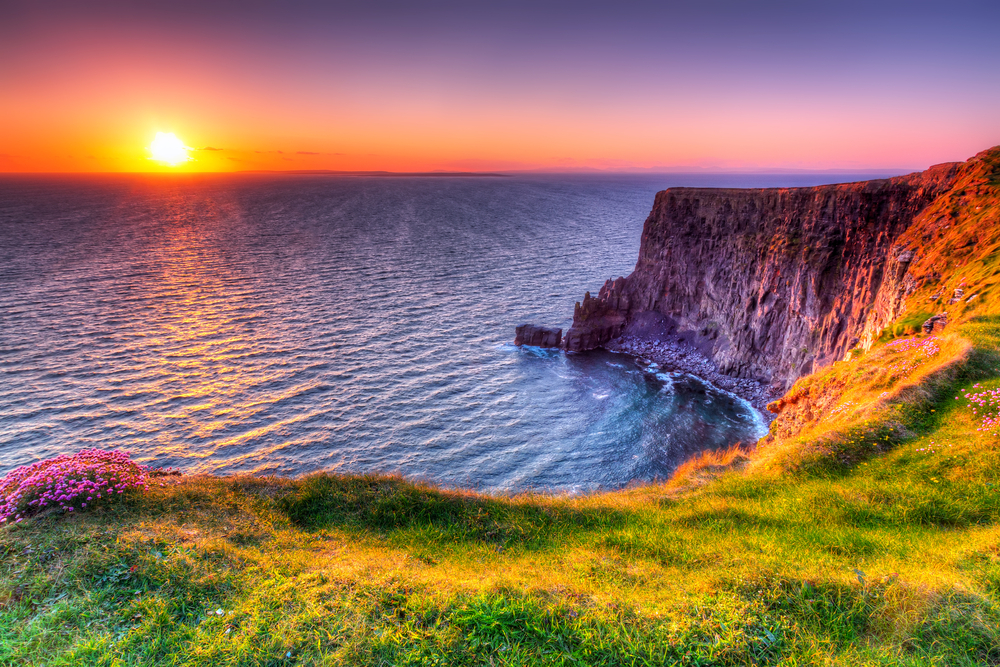 the Cliffs of Moher on the best European road trip through Ireland