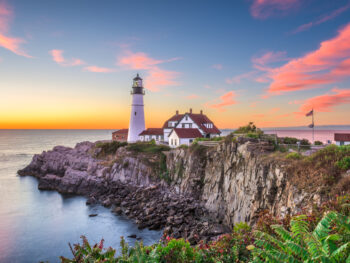 Maine is known for its coasts so a road trip up the coast is perfect!