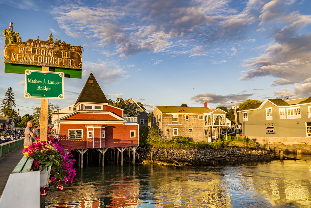 Kennebunkport is a quaint, coastal town to see on your maine road trip