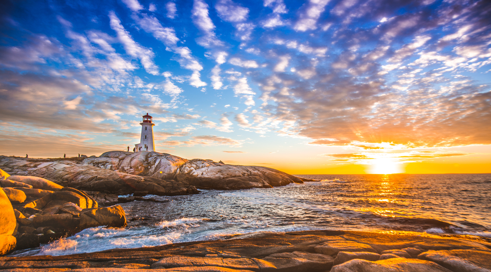 Although in Canada, Nova Scotia is a great day trip from Maine!