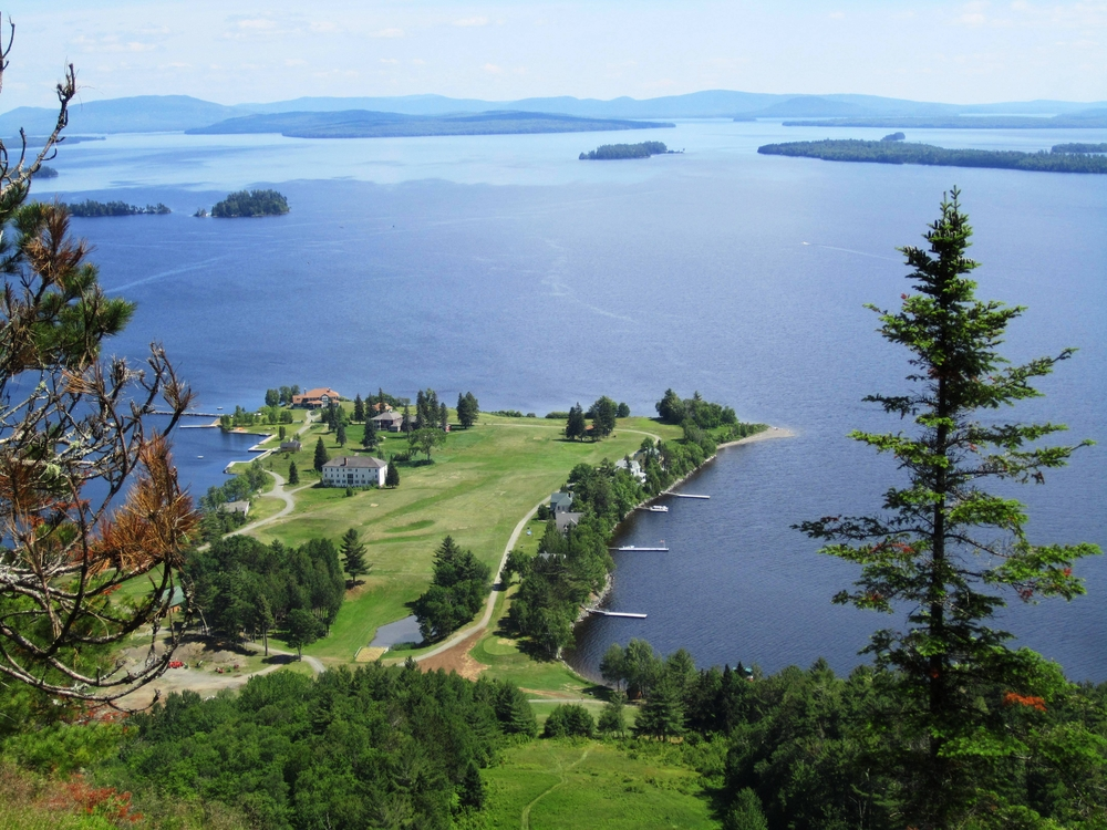 Moosehead Lake offers great hikes, day trips and views.