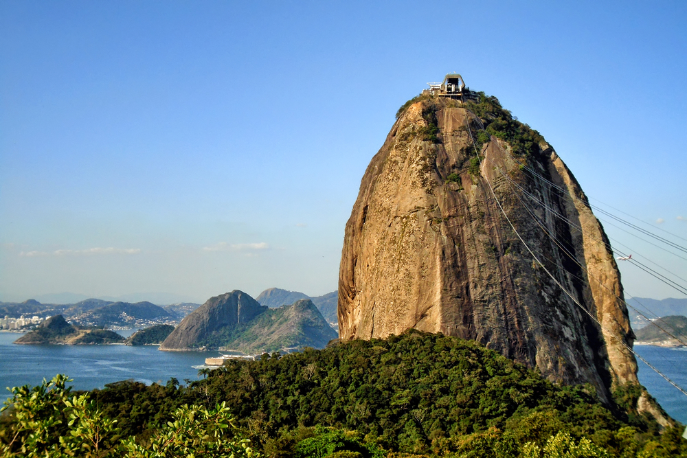 The tall peak of Sugarloaf Mt. is great of panoramic views!