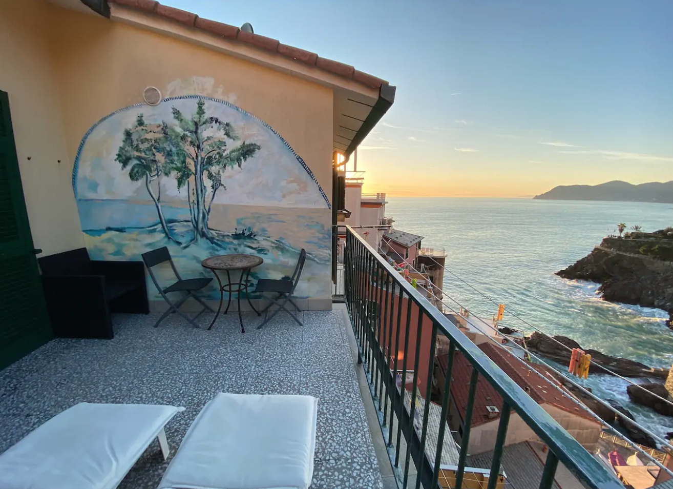 an airbnb in cinque terre which focusses on spirituality and meditation