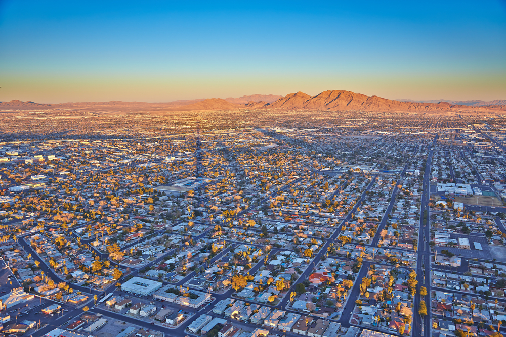 Start your southwest road trip by flying into Vegas